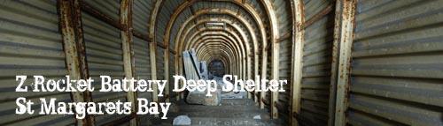 St Margaret's 5.5″ Battery Shelter, Dover