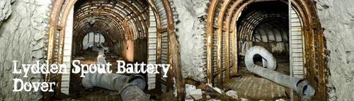Lydden Spout Battery Deep Shelter, Dover