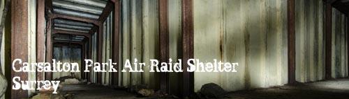 Carshalton Park Air Raid Shelter, Surrey