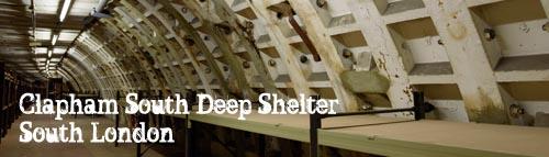 Clapham South WW2 Air Raid Deep Shelter, London
